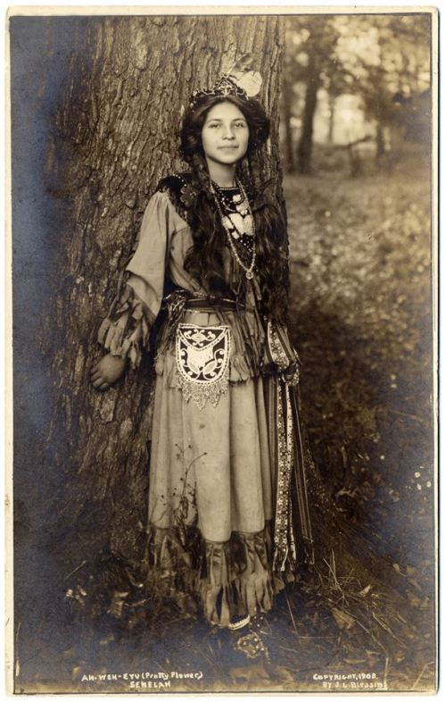 1908 seneca tribe Ah-Weh-Eyu ( Pretty Flower)