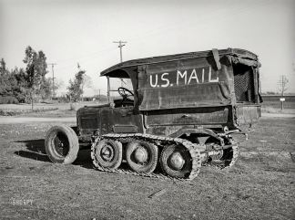 mail truck 1940