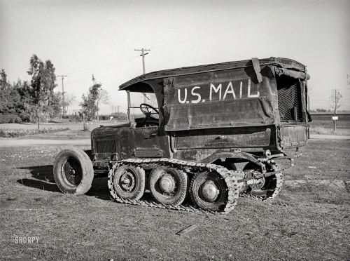 mail truck 1940