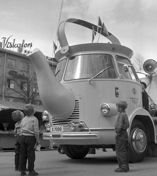 coffee pot truck sweden