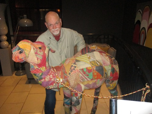 Dan & hotel camel.JPG
