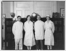 doctor and nurses 1920