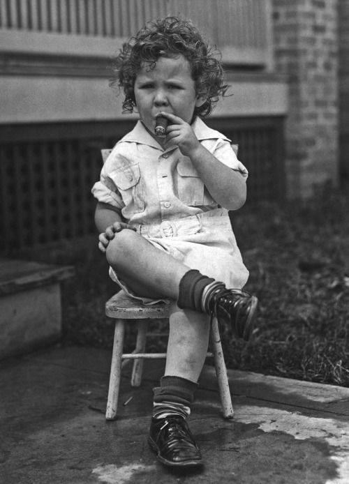 smoking 3 year old