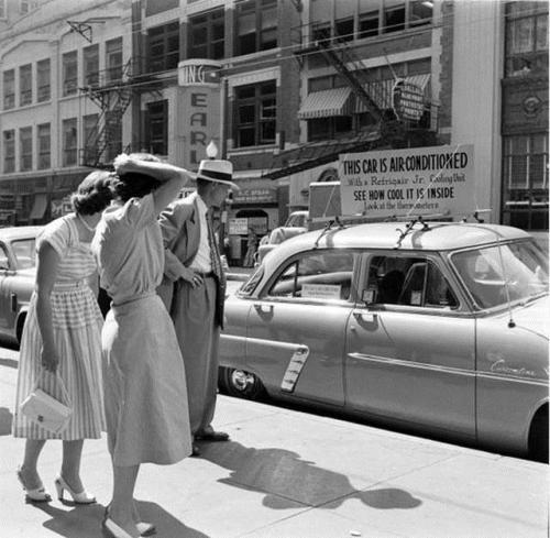 car 1954 air conditioned