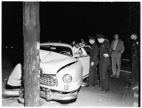 Traffic Accidents of California From the 1950s (3)
